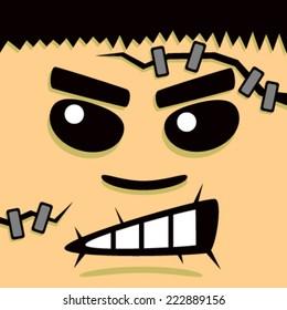 Cartoon Frank Face