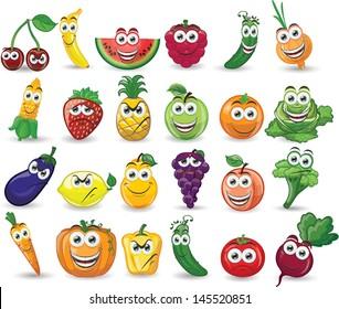 Vegetable Cartoon Images Stock Photos Vectors Shutterstock