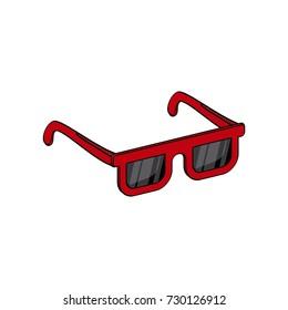 نظارة كرتون