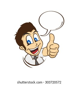 cartoon thumb images stock photos vectors shutterstock https www shutterstock com image vector cartoon guy thumbs character vector illustration 303720572