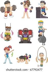 cartoon Gym icon