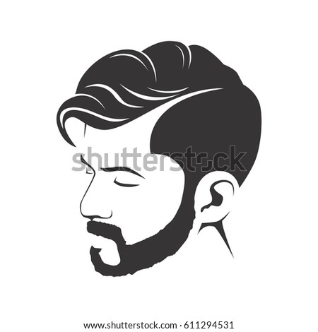 Cartoon Haircut Style Stock Vector Royalty Free 611294531