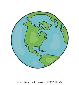 Globe Drawing Images Stock Photos Vectors Shutterstock