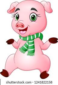 Cheerful sperm pig