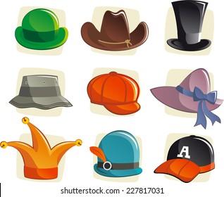cartoon hat images stock photos vectors shutterstock rh shutterstock com cartoon hats and gloves cartoon hats for sale