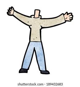 cartoon headless body (mix and match cartoons or add own photo)