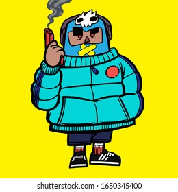 Hip Hop Cartoon Images Stock Photos Vectors Shutterstock