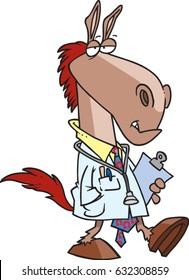 cartoon horse doctor