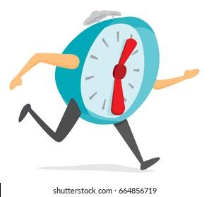 Running Late Cartoon Images, Stock Photos & Vectors | Shutterstock