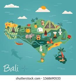 Bali Cartoon Images Stock Photos Vectors Shutterstock