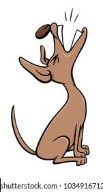 Dog Barking Cartoon Images Stock Photos Vectors Shutterstock