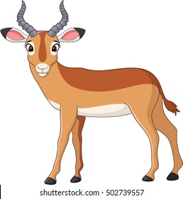antelopes cartoon images stock photos vectors shutterstock rh shutterstock com antelope cartoon character cartoon antelope running