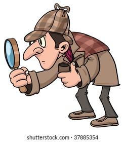 Cartoon Detective Images Stock Photos Vectors Shutterstock