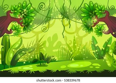 Jungle Cartoon Images Stock Photos Vectors Shutterstock