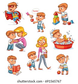 Children Daily Activities Images Stock Photos Vectors Shutterstock
