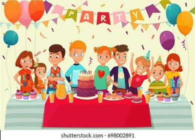 Party Cartoons Images Stock Photos Vectors Shutterstock