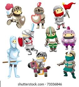 cartoon Knight icon