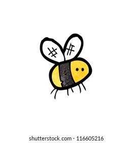 cartoon little bee