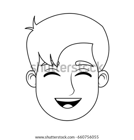cartoon man avatar profile picture male stock vector royalty free