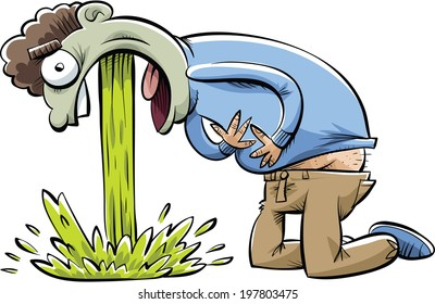 vomiting cartoon images  stock photos   vectors shutterstock cute frog clip art free Frog Clip Art Black and White