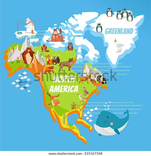 Map Of North America Mountains on