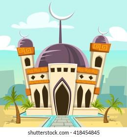 94  Gambar Masjid Nabawi Kartun Terlihat Keren