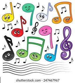 Imágenes Fotos De Stock Y Vectores Sobre Dibujo Musicales