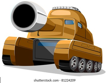 cartoon new tank