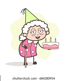 old lady cartoon images stock photos vectors shutterstock rh shutterstock com old girl cartoon characters old lady cartoon character with tissues