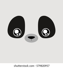 Cartoon Panda Background
