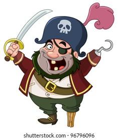 pirate cartoon images stock photos vectors shutterstock rh shutterstock com pirate cartoon pictures pirate cartoon images free