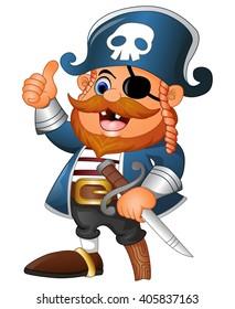 Pirate Cartoons Stock Illustrations, Images & Vectors | Shutterstock