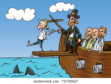 cartoon-pirate-walking-plank-260nw-715720567.jpg