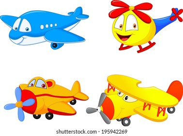 Cartoon planes