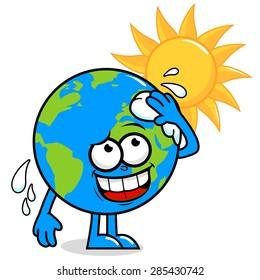 Royalty Free Cartoon Global Warming Stock Images Photos Vectors