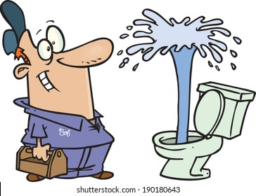 Image result for plumbing cartoons