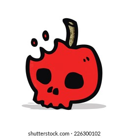 cartoon poison apple