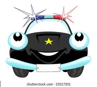 Royalty Free Cartoon Police Car Stock Images Photos Vectors