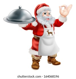royalty free santa claus with food images stock photos vectors