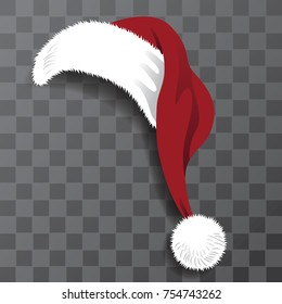 Transparent Christmas Hat.Santa Hat Images Stock Photos Vectors Shutterstock