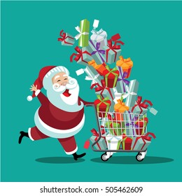 Christmas Shopping Images Stock Photos Vectors Shutterstock