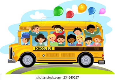 School Bus Clipart Images, Stock Photos & Vectors | Shutterstock