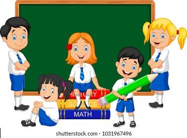 School Cartoon Images Stock Photos Vectors Shutterstock