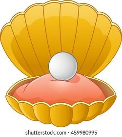 Cartoon Shell pearl