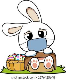 cartoon sick waster bunny health 260nw 1676425648