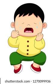 「boy Crying」のイラスト素材、画像、ベクター画像 Shutterstock