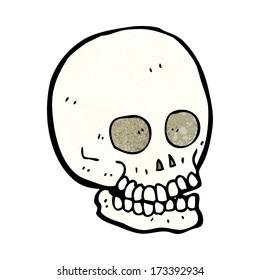 cartoon skull