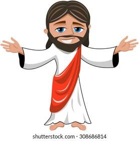 Jesus Cartoon Images Stock Photos Vectors Shutterstock