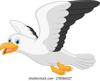 cartoon seagull images stock photos vectors shutterstock rh shutterstock com seagull cartoon drawing seagull cartoon images
