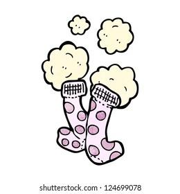 cartoon socks